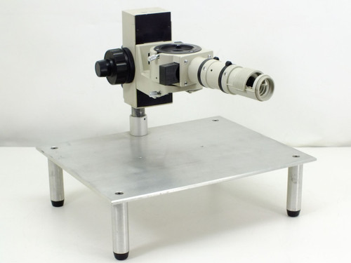 Nikon Microscope  Stand with illuminator attachment with sliding filter and polarizer