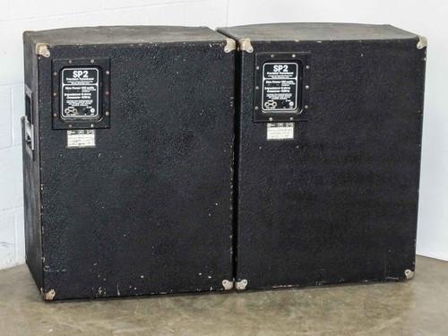 peavey sp2 pair of vintage 150 watt precision transducer speaker enclosure. Black Bedroom Furniture Sets. Home Design Ideas