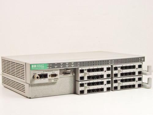 HP HP 48 Port10-BaseT Hub w/ J2605A 12 Port Modulator Adapters (J2602A)