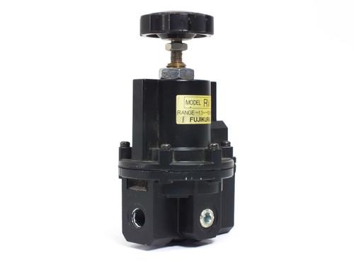 "Fujikura RV-1-2 Precision Vacuum Regulator -1.3 to -100 kPa 1/4"" FNPT"