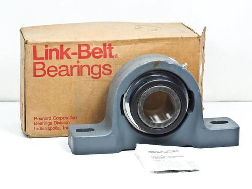 """Rexnord P-U343  2-11/16"""" Link-Belt Heavy Duty Pillow Block Bearing"""
