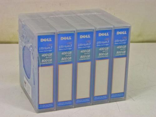Dell HC591 5-Pack  LTO Ultrium 3 Data Cartridge 400/800 GB
