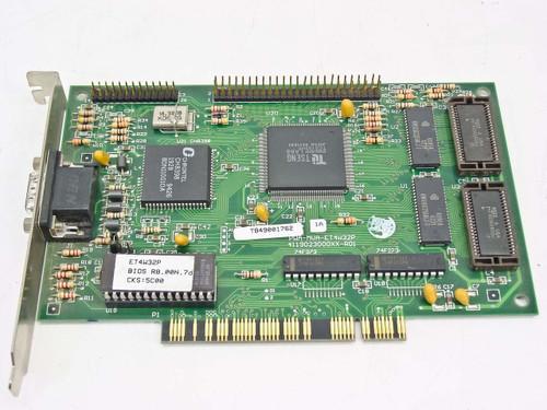 Tseng MVA-ET4W32P  PCI Video Card Vintage TB49001762