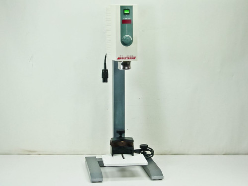 Kinematica PT 3100  Polytron Stand Dispersion Unit and Adjustable Stage
