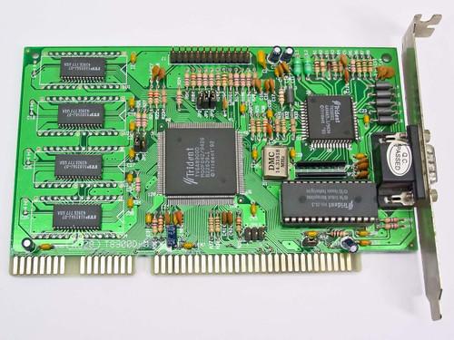 Trident T8900D-M  Micro Vga 16bit Isa 1MB Video Card