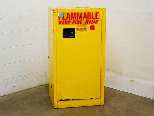 "Securall Cabinets 24"" x 19"" x 45""  Safety Storage Cabinet for Flammable Liquids"