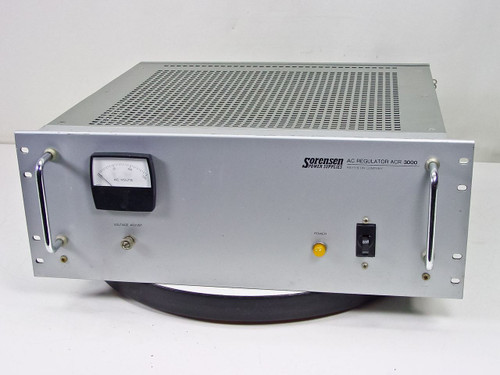 Sorensen Power Supplies ACR 3000  AC Regulator