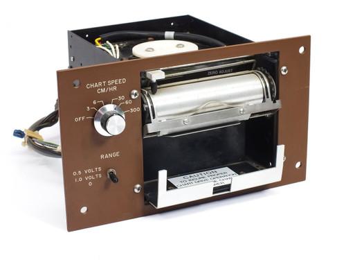 Esterline Angus MS401E Chart Recorder Printer 3/6/30/60/300 CM/HR S100 Wafer C84