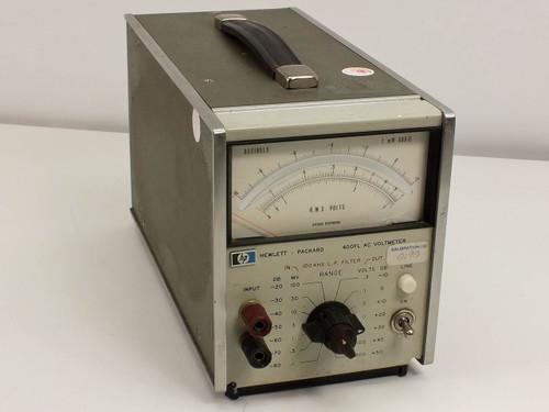 HP 400FL AC Voltmeter