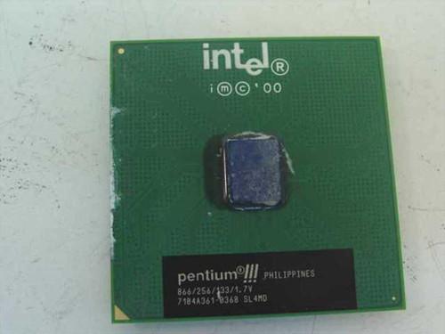 Intel PIII Processor 866Mhz/133/265/1.7V Processor (SL4MD)