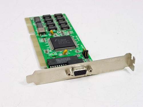 Trident JA-8237C/V1  VGA 16BIT ISA TVGA9000I 1MB VIDEO CARD