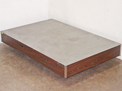 """Newport Corporation NS3A  6' by 4' by 8"""" Optical Breadboard Vibration Isolation Table"""