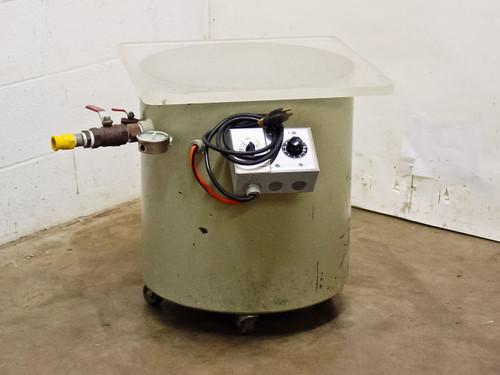 Steel 2.66 CU Ft  Vacuum Chamber Tank with Power Regulator, Timer, Vacuum Gauge and Valves