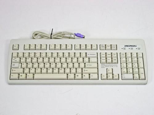 NMB RT2258TW  123826-001 D Micron Keyboard