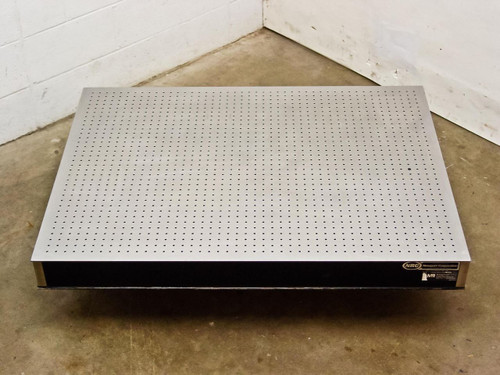 """Newport Stainless Steel  4' by 3' by 4"""" Optical Breadboard Vibration Isolation Table"""