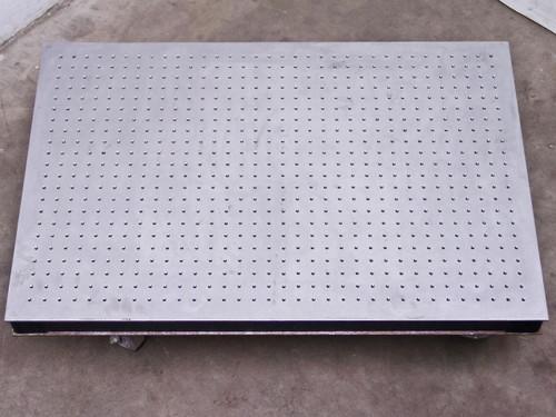 Aluminum 36x24x3  Sealed Hole Optical Anti Vibration Breadboard Table Top
