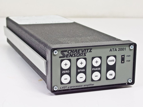Schaevitz 02291327-000  ATA 2001 LVDT Signal Conditioner w Digital Calibration