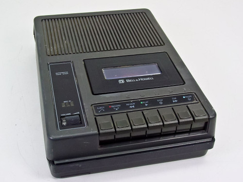 Bell & Howell 3169A  Cassette Tape Player/Recorder