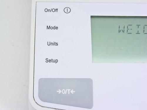 Ohaus N08110  Navigator Scale Error Code 8.3 - As Is