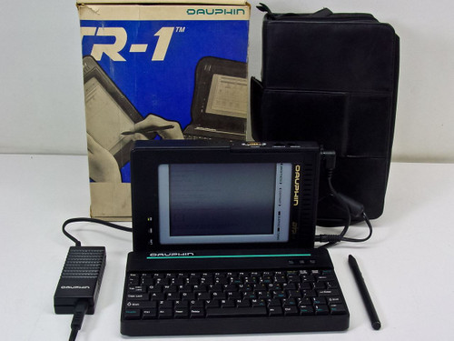 Dauphin Technology DTR-1  486SLC Vintage 486 Laptop Notebook Computer Made by IBM