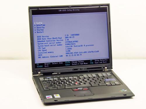 IBM 2379R6U  T42 1.6GHz Pentium M, 512MB Ram, 40GB HDD