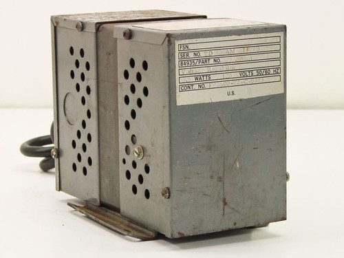 Sola 21-1396  Constant Voltage Transformer Normal Harmonic Type
