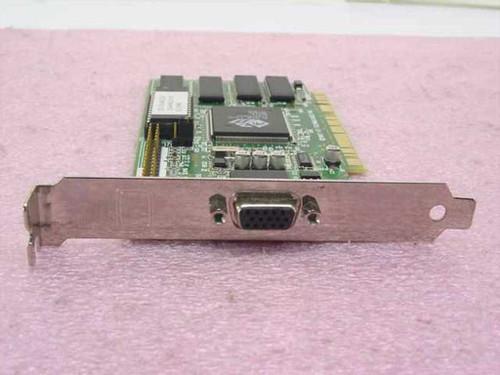 ATI PCI Video Card 3D Rage II&DVD 2 MB (109-40600-00)