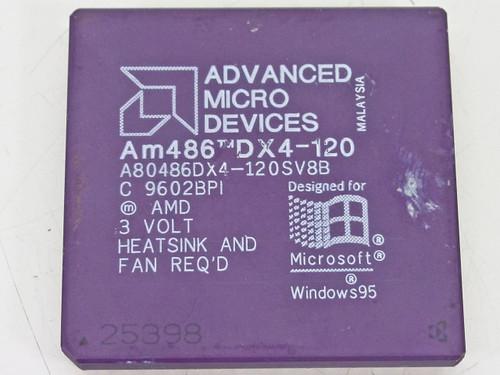 AMD Am486 DX4-120   120 CPU A80486DX4-120SV8B