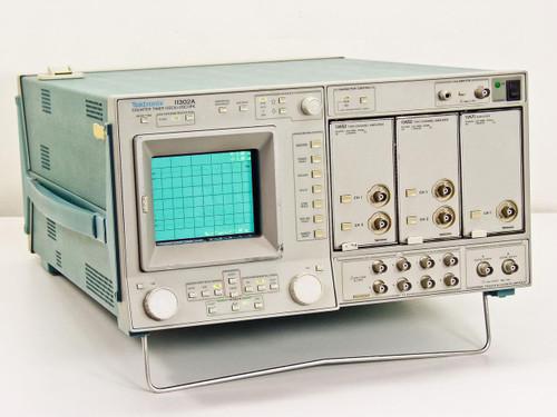 Tektronix  11302A  Counter timer oscilloscope 11A52 11A71 Plugins