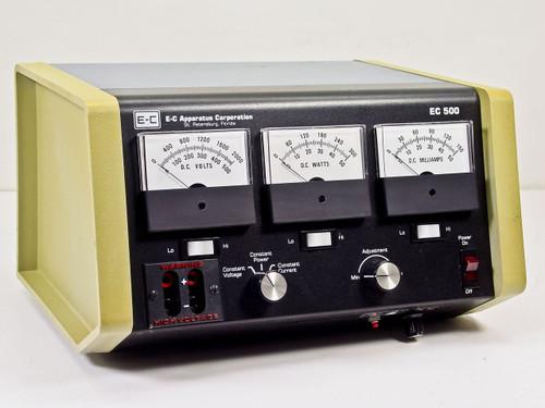 E-C Apparatus Corp EC 500  Electrophoresis Power Supply