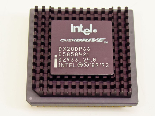 Intel SZ933  DX20DP66 DX2 OverDrive Processor 66Mhz