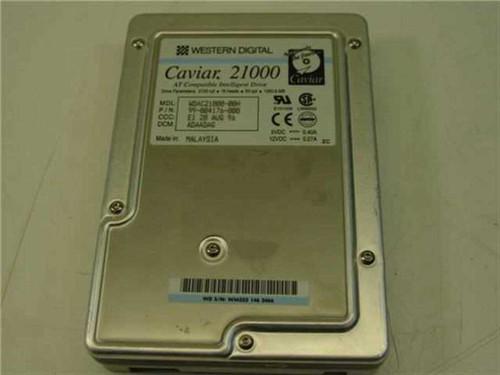 """Western Digital 1.0GB 3.5"""" IDE Hard Drive (WDAC21000)"""
