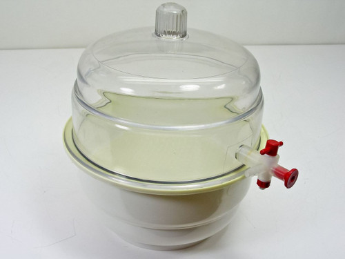 """Bel-Art Products Scienceware 9""""  Desiccator with Valve"""