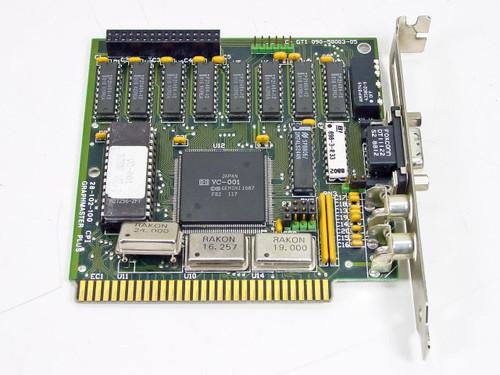 Graphmaster Plus 28-102-100  ISA 8-Bit Mono Video Card