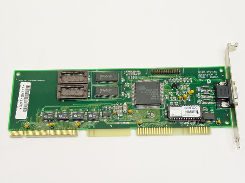 Genoa 8500VL Rev D  VLB VGA Card - Cirrus Logic CL-GD5428-80QC-A