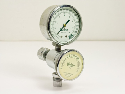 Welco, Melchior R50  Vacuum Valve with Welco Gauge