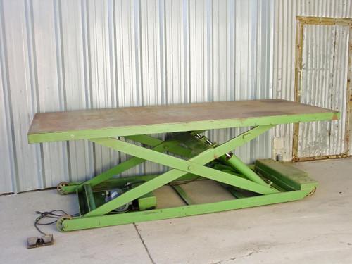 Air-Technical  SLT-44896-M  Hydraulic Electric Platform Scissor Lift Table