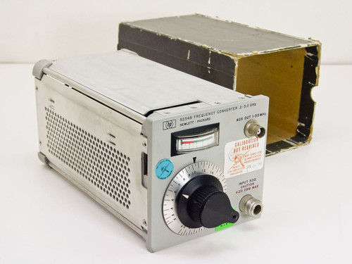 HP 5254B  Frequency Converter .2 - 3.0 GHz