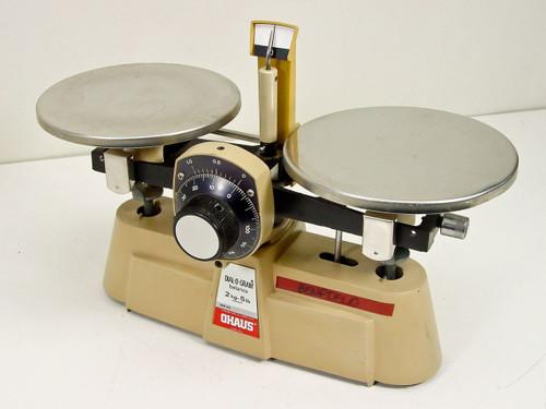 Ohaus  2kg - 5lb Capacity   Dial - O - Gram Balance Scale