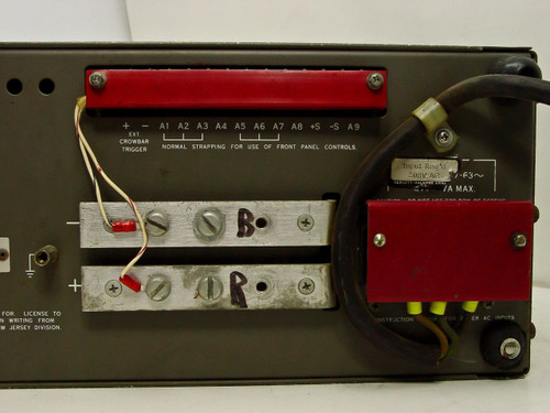 HP 6269B  DC Power Supply 0-40V ~ 0-50A / 208V As-Is for Parts