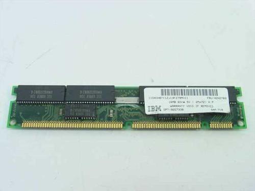IBM 16MB Memory Parity 168 pin DIMM 42H2783