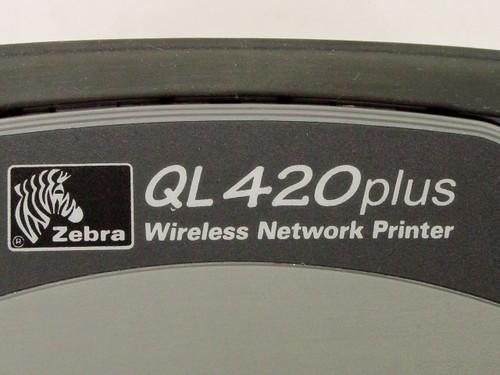 Zebra Q4D-LUKA0000-00  QL420 Plus Thermal Label Printer