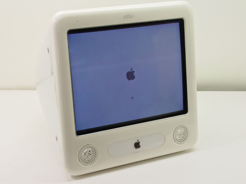 """Apple A1002  eMac G4 700MHz White Ice 17"""" CRT Computer"""