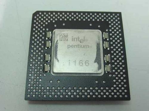 Intel SY037 Pentium 1 166Mhz MMX CPU FV80502166