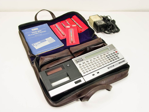 Radio Shack TRS-80  Pocket Computer PC-2 w/ Cassette Interface - As Is