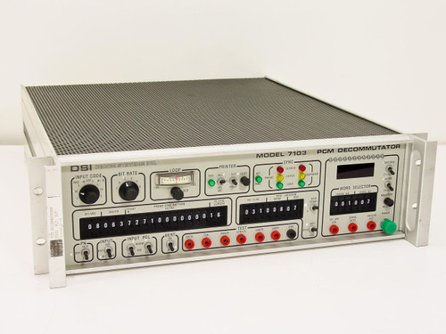 DSI 7103   PCM Decommutator