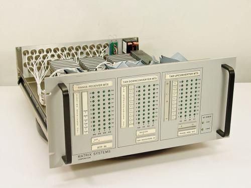 Matrix Systems Corp 10682b  Programmable Triple 10x4 Coaxial Switch