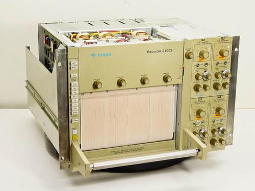 Gould 2400S  Strip Chart Recorder Model 2108-4490 40/400 Hz