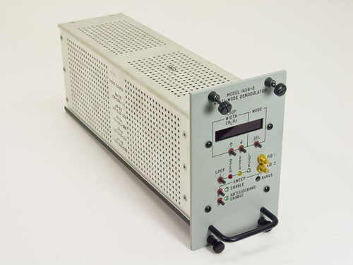 Microdyne Corp 1458-D   Multi-Mode Demodulator