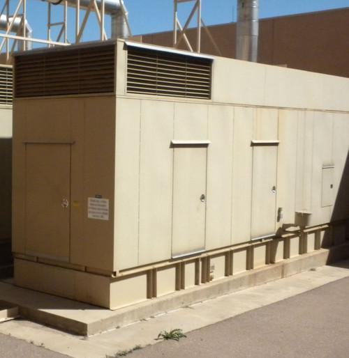 Cummins Onan 1500DFLE  1500 KW 277/480V 60Hz Diesel Generator Low Hours